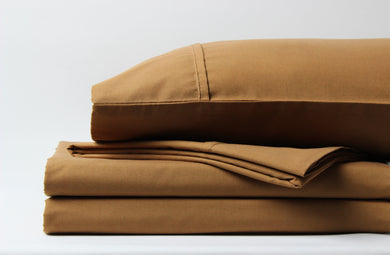 1800 Series Light Brown Sheet Set