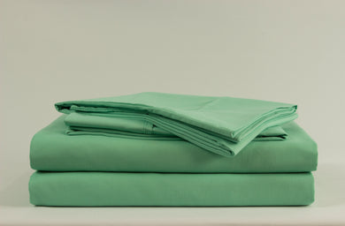 1800 Series Mint Green Pillowcase Set