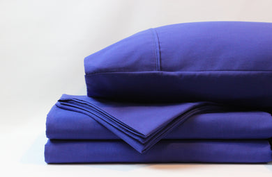 1800 Series Royal Blue Sheet Set