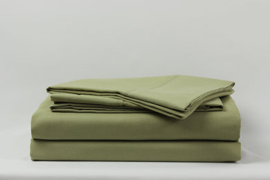 1800 Series Sage Pillowcase Set