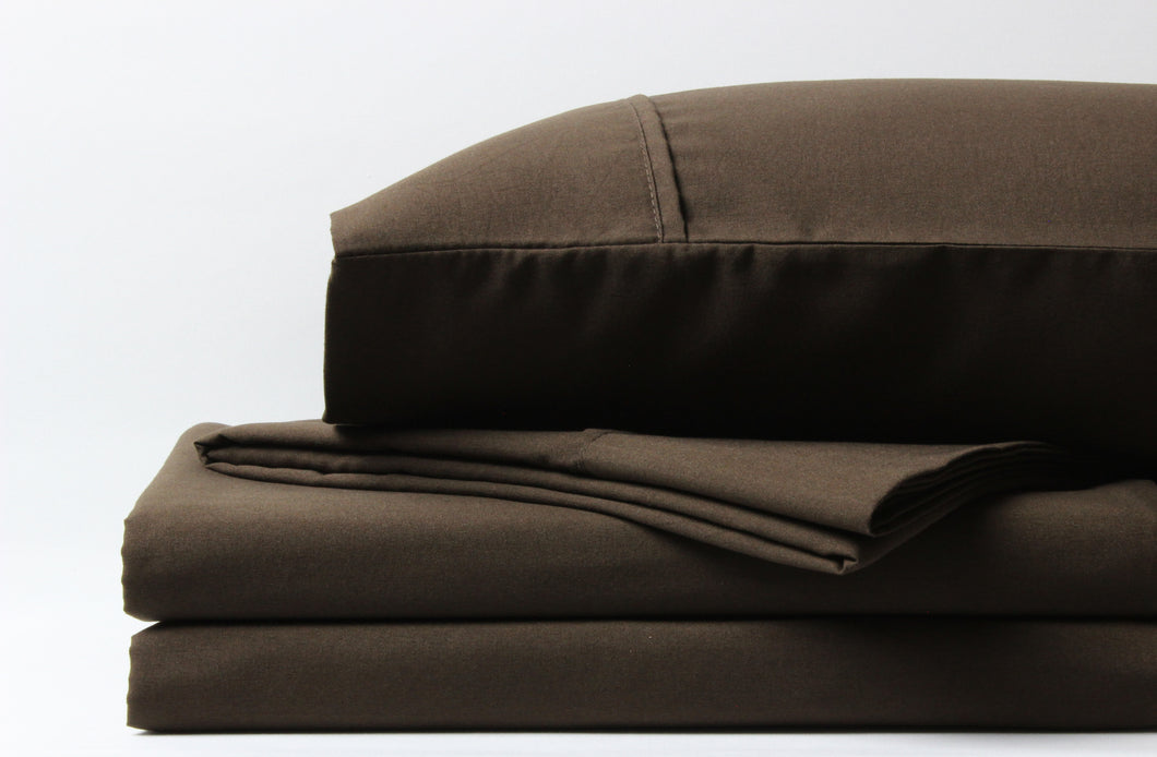 1800 Series Chocolate Sheet Set