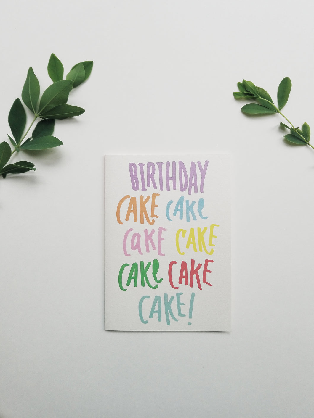 Rihanna inspired cake song lyrics birthday greeting card