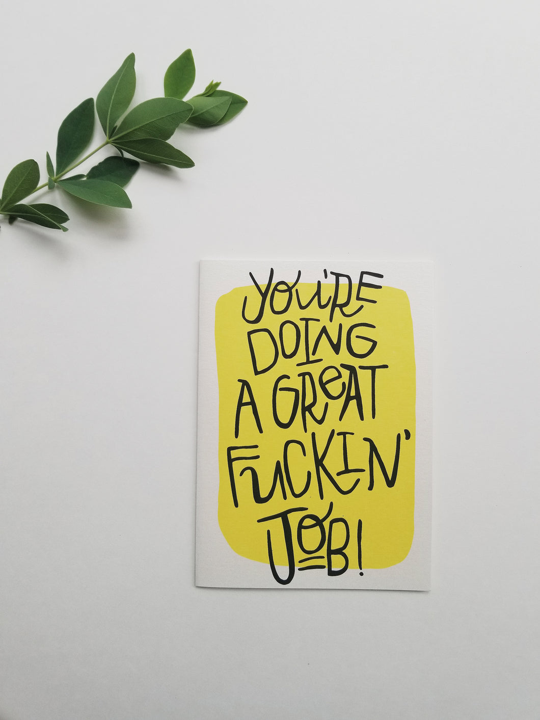 Great job adult humor funny greeting card