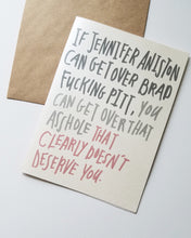 Funny Break-Up Card
