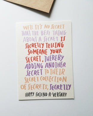 Spongebob Quote Greeting Card