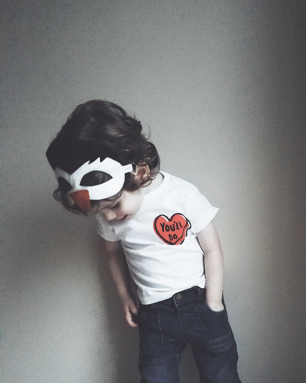 You'll Do Toddler Valentine's Graphic Tee