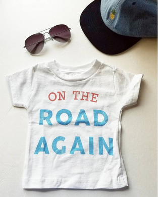 Toddler on the road again tee