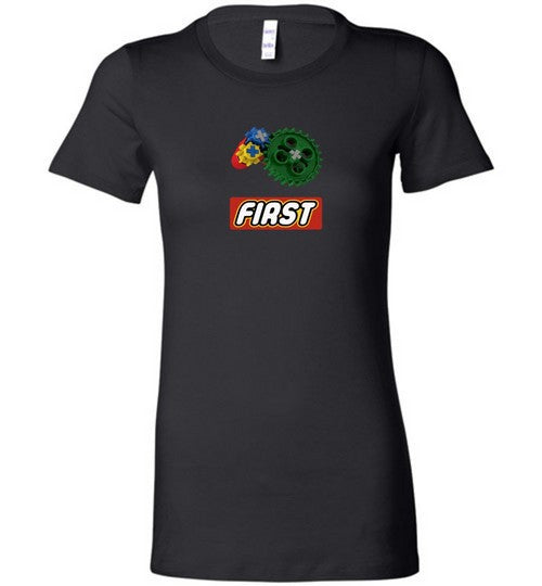 Womens First Robotics League TShirt FLL Coach Team Member Tee