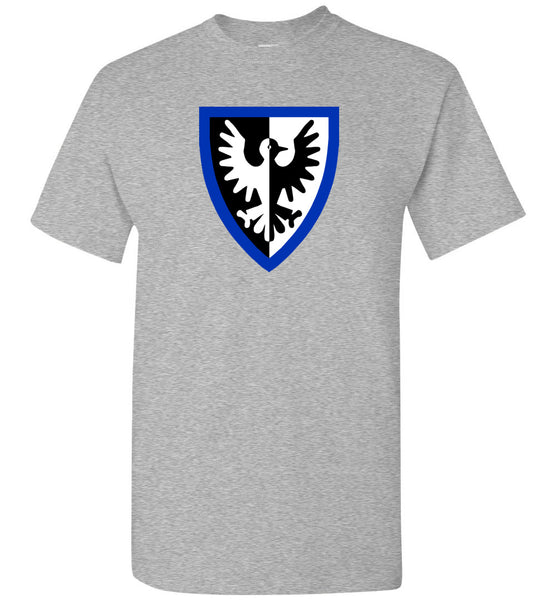 Black Falcon Eagle Crest Classic Castle T Shirt