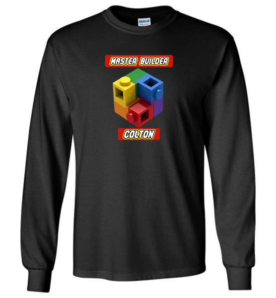 COLTON FIRST NAME EXPERT MASTER BUILDER TSHIRT