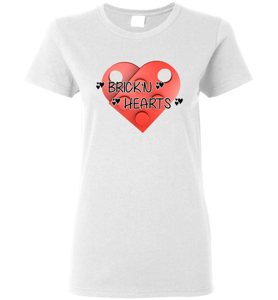 BRICK'N Breaking Hearts - Valentines Day - Valentines Shirt - Cupid Shirt - Clothing - Clothes - T-shirt