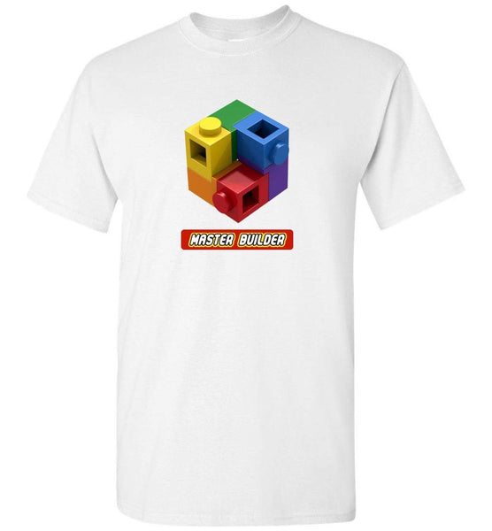 Master Builder Brick Toy Fan TShirt Expert Tee (DEFAULT)