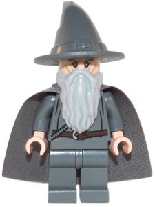 Lord of the Rings Gandalf the Gray LEGO Movie Minifigure (ETS03)