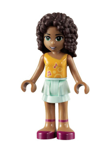 Andrea - Friends Minifigure Mini Doll from Birthday Party Set 40B