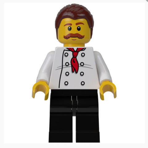 Restaurant Chef Minifigure ETS01