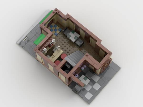 Downloadable Instructions for an Irish Tavern and Bar in the Modular Standard