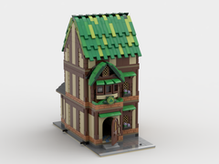 LEGO Irish PUB Modular Building