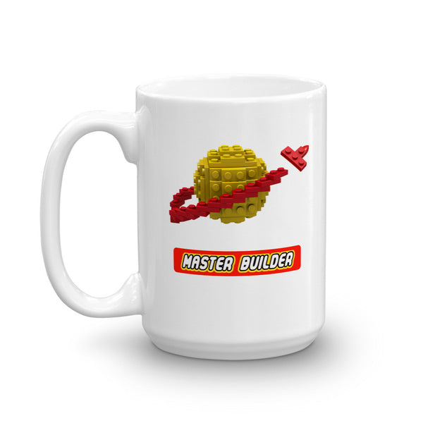 Master Builder Classic Space Brick Toy Mug
