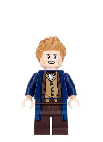 Newt Scamander Minifigure Fantastic Beasts and Where to Find Them ETS 03