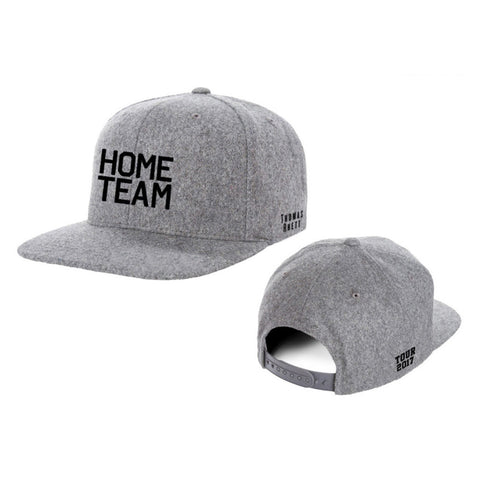 Home Team Grey Cotton Twill Hat