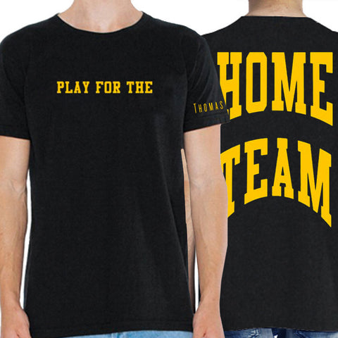 Play for The Home Team Yellow Tour Tee