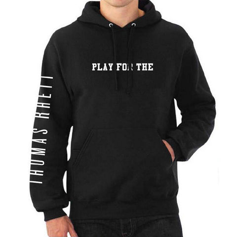 Play for the Home Team Pullover Hoodie