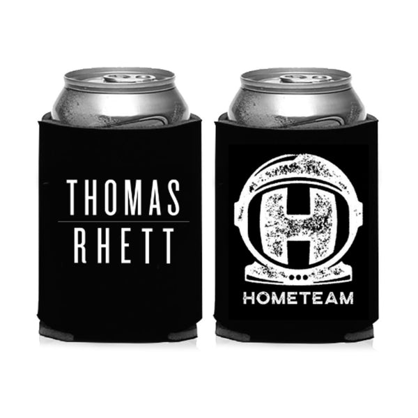 Home Team Spaceman Black Koozie