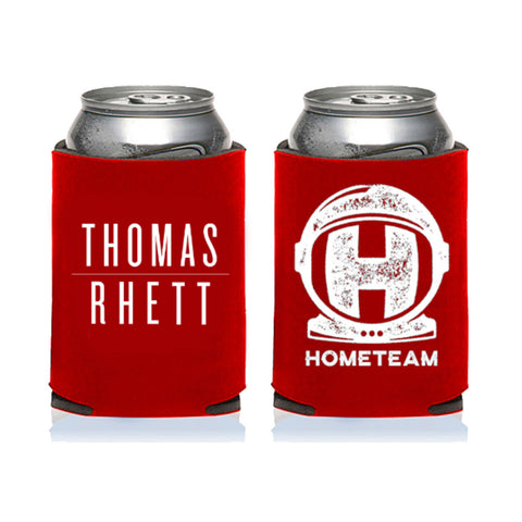 Home Team Spaceman Red Koozie
