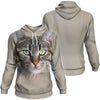 Pixie-bob Cat Big Face Hoodie