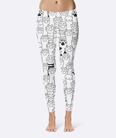 Cat Paw Toe Beans Leggings
