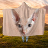Sphyxn Cat Face Hooded Blanket