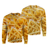 Potato Chips Cat Kitten Pattern Hoodie