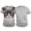 Grumpy Cat Big Face T-shirt