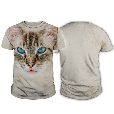 Birman Cat Big Face Hoodie
