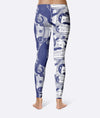 Cat Reading Book Leggings