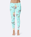 Cute Cat Unicorn Leggings