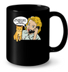 Give Children Away Cat Allergic Black Mug