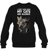 Can't Have Kid Cat Allergic T-shirt