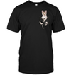 Singapura Cat In Pocket T shirt