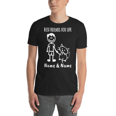Custom Personalized Best Friends For Life T-shirt