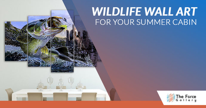 Wildlife Wall Art For Your Summer Cabin