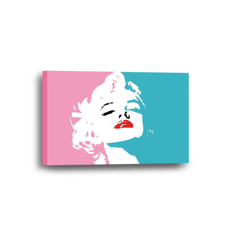 Abstract Marilyn Monroe Framed Canvas Home Decor Wall Art Multiple Choices 1 3 4 5 Panels