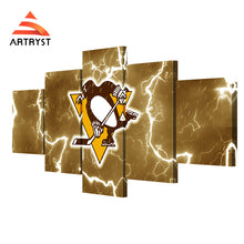 Pittsburgh Penguins Framed Hockey Canvas - The Force Gallery