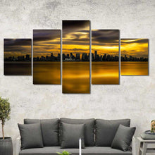 Vancouver City Multiple Size Choices Canvas Home Decor Art Framed Wall Decor
