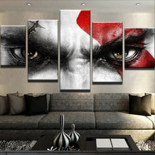 Kratos God of War Five Piece Canvas - The Force Gallery