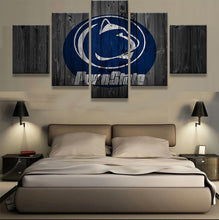 Penn State Nittany Lions College Canvas Barnwood Style - The Force Gallery