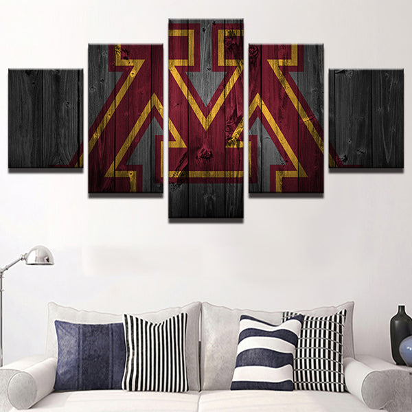 Minnesota Gophers College Barnwood Style