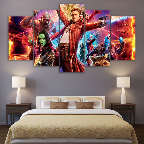 Guardians of the Galaxy Star Lord Canvas