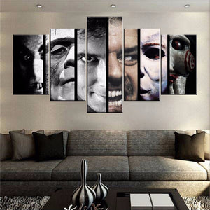 Faces of Horror Halloween Canvas - The Force Gallery