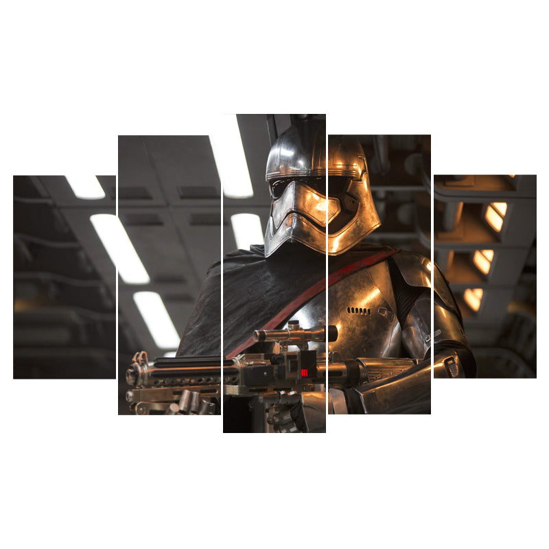 Star Wars Captain Phasma The Last Jedi Canvas - The Force Gallery